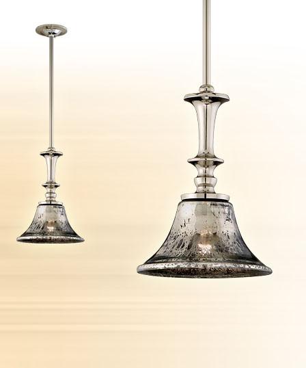 Powder Bath Mercury Glass Pendant Lighting Salt Lake City By Cora St