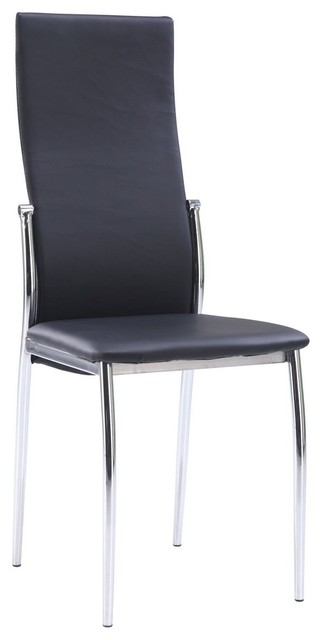 Upholstered Side Dining Chair (Set of 2) by Global Furniture USA contemporary-dining-chairs