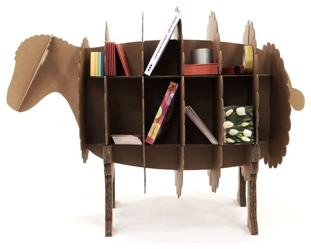 The Barnyard Method - Ram contemporary bookcases cabinets and computer armoires