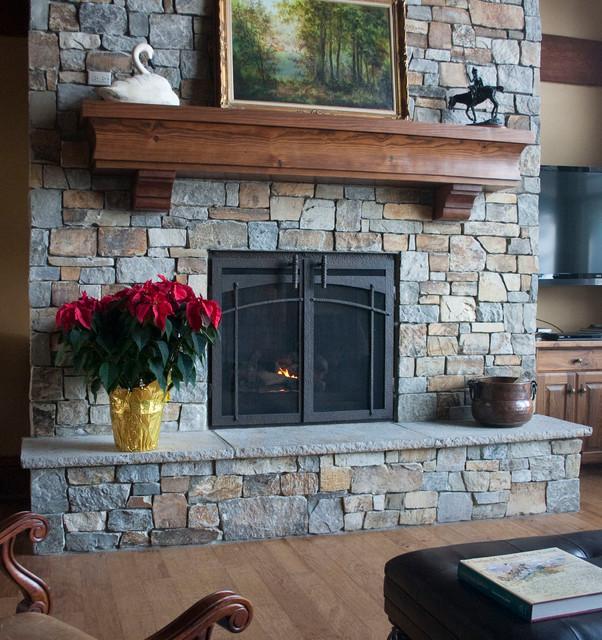 Custom Fireplace Door - Craftsman - Indoor Fireplaces - other metro - by Ironhaus Inc