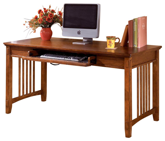 Mission Style Writing / Computer Desk - Contemporary - Desks And