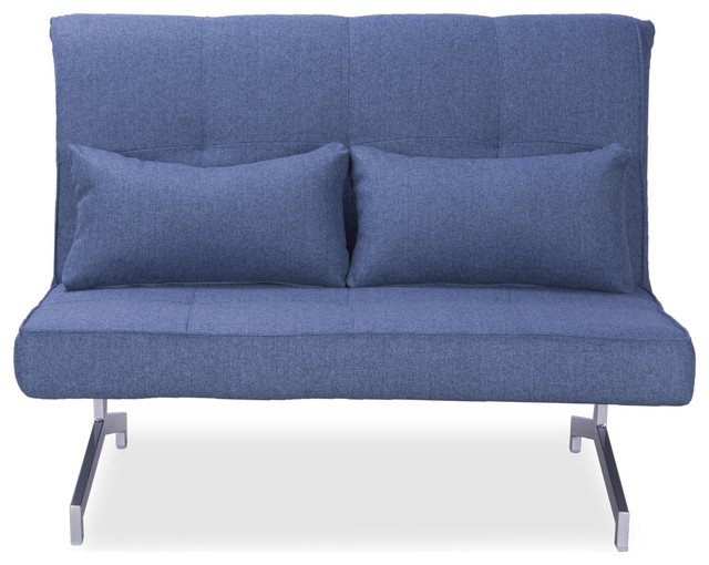 Cardini Due Blue Futon modern-futons