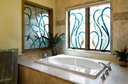 New Construction Custom Home traditional-bathroom