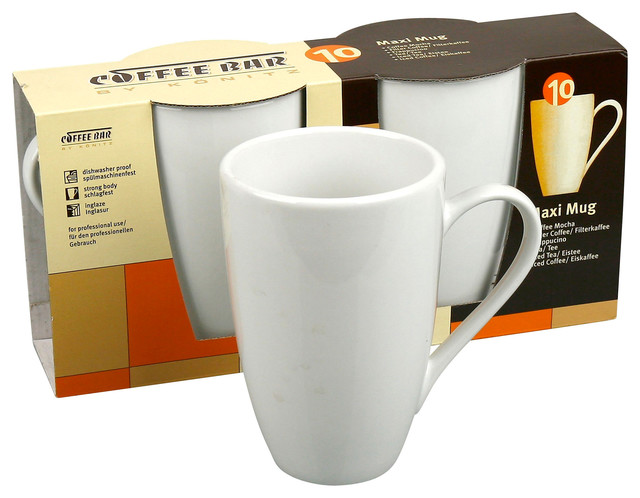Set of 2 Maxi Mugs traditional-mugs