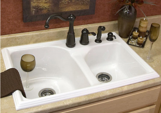 Acrylic Kitchen Sink Traditional Kitchen Sinks other metro by Vintage