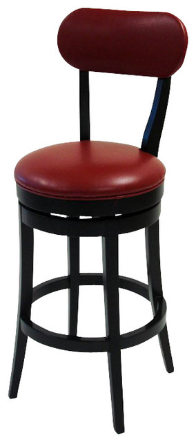 Armen Living Roxy 30 Inch Red Bicast Leather Swivel  : transitional bar stools and counter stools from houzz.com size 284 x 640 jpeg 29kB