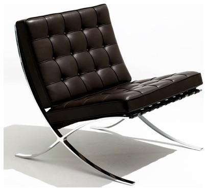 Barcelona Chair by Mies van de Rohe modern chairs