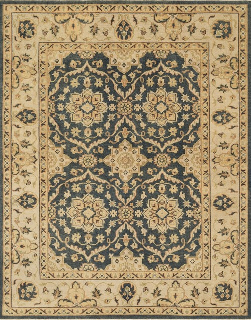 "Loloi Rugs Vernon Collection Estate Blue Ivory 8 6""x11 6&quot"