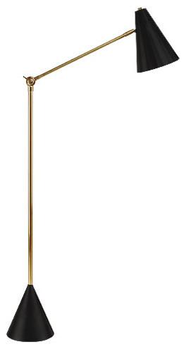 Jonathan Adler Antwerp Floor Lamp Brass Amp Black
