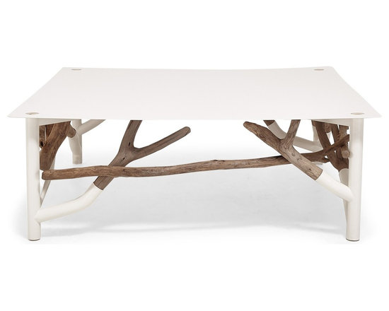 Ash & Elm Driftwood Cocktail Table -