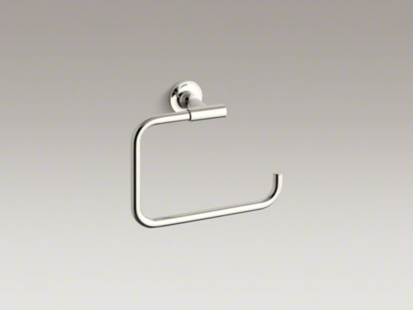 KOHLER Purist(R) towel ring contemporary-towel-bars-and-hooks