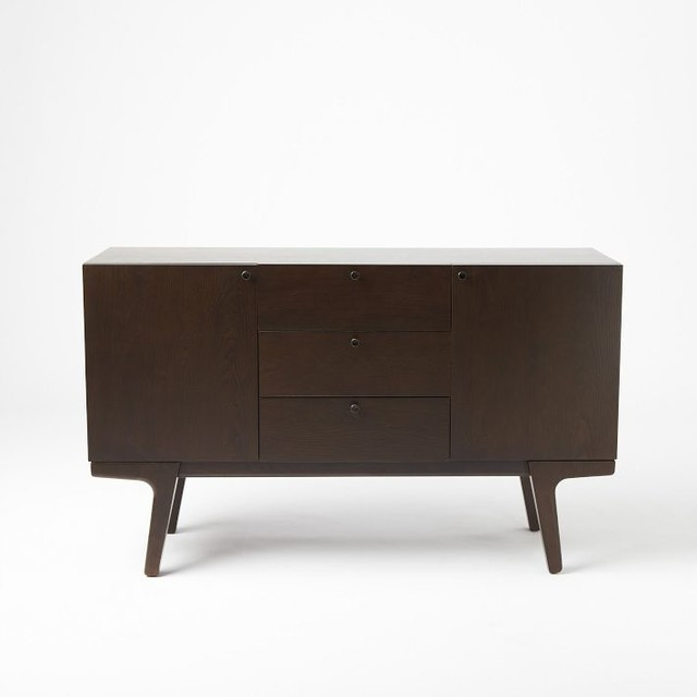 Dumont media console modern entertainment centers and Modern media console