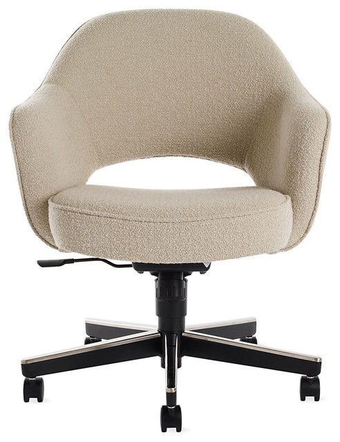 Saarinen Executive Armchair With Casters Modern Office