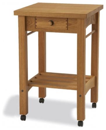 Arts and Crafts Kitchen Cart modern-kitchen-islands-and-kitchen-carts