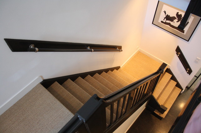 contemporary staircase by Holly Marder