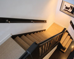 The home of Geert and Cecilia contemporary-staircase