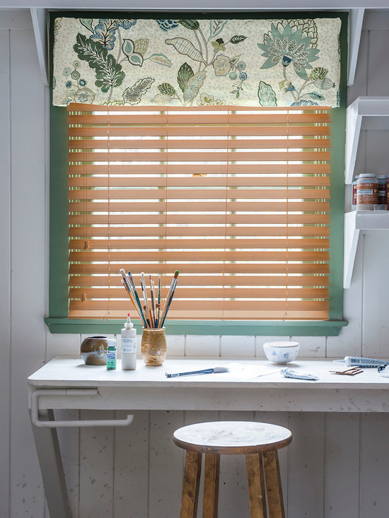 """Smith & Noble 2"""" Durawood Blinds - Enduring design and functionality make our Durawood Blinds a perennial favorite with homeowners. The clean lines look just like the surface of hand-painted, fine wood and won't warp, crack, peel, or fade. Durawood Blinds are shipped in 5 business days."""