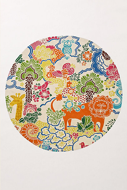 Dream Menagerie Rug eclectic kids rugs