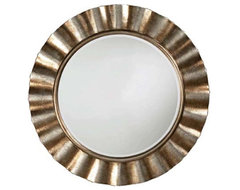 Samara Round Mirror - 46 diam. in. traditional mirrors