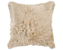 Plush Star Pillow, Camel contemporary pillows