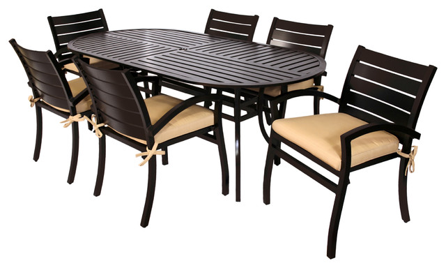 Newport Collection 7 piece Dining Set Contemporary  : contemporary dining tables from www.houzz.com size 640 x 384 jpeg 59kB