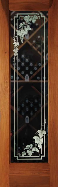 Wine Room Doors - Wine Cellar Door Cascade 3D traditional-interior-doors
