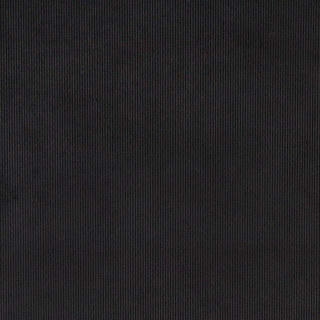 Black Corduroy Thin Stripe Upholstery Velvet Fabric By The ...