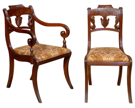 Current Inventory for Purchase - Set of 8 Regency Dining Chairs