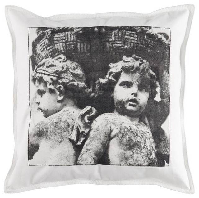 Aidan Gray Guardians of the Basket Patch Pillow Cover traditional-decorative-pillows