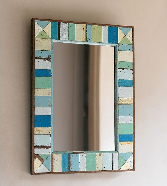 Boatwood Mirror eclectic-wall-mirrors