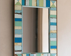 Boatwood Mirror eclectic mirrors