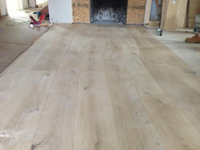Bolefloor Curved Plank Flooring Installation & Finishing contemporary
