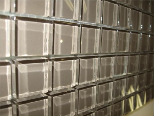 glass tile clear square 1 x1 toronto by cercan tile inc