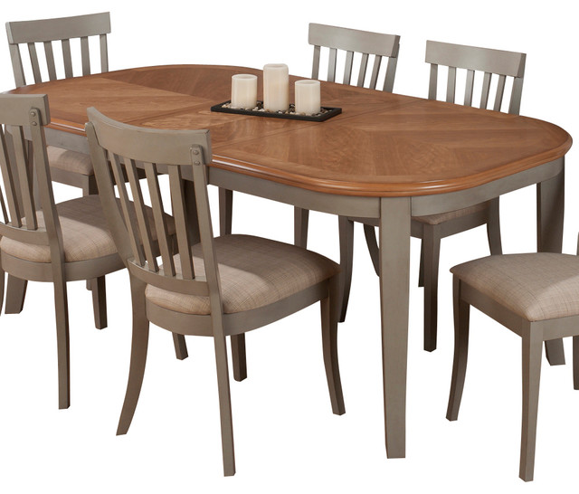 Jofran 771 78 Pottersville Oval Leg Dining Table with  : traditional dining tables from www.houzz.com size 640 x 546 jpeg 74kB