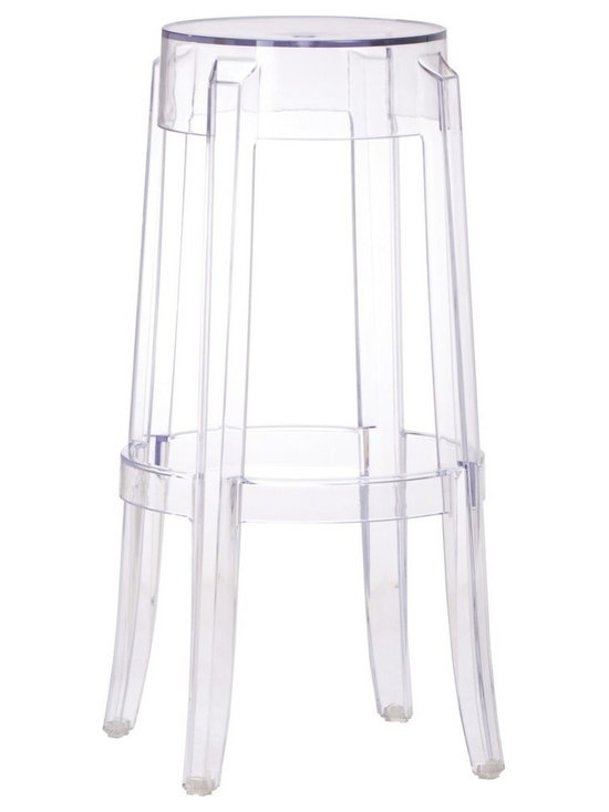 Zuo Modern - Zuo Anime Barstool Transparent - Barstool Transparent belongs to Anime Collection by Zuo Modern The Anime barstool is the essence of modern with its transparent single mold polycarbonate construction. It has an UV protection compound that prevents fading and cracking. Barstool (1)