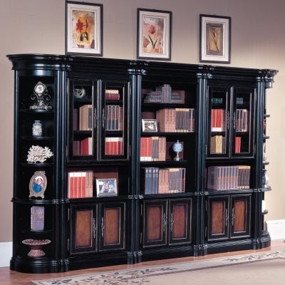 Parker House Bordeaux Bookcase Library Wall modern-bookcases