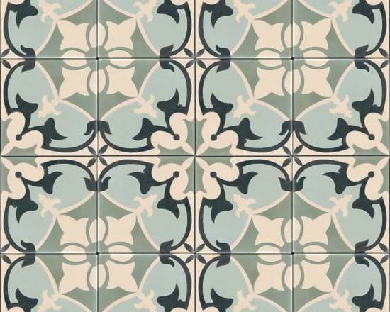 "In Stock Cement Tile - ""Sofia"" from Cement Tile Shop"