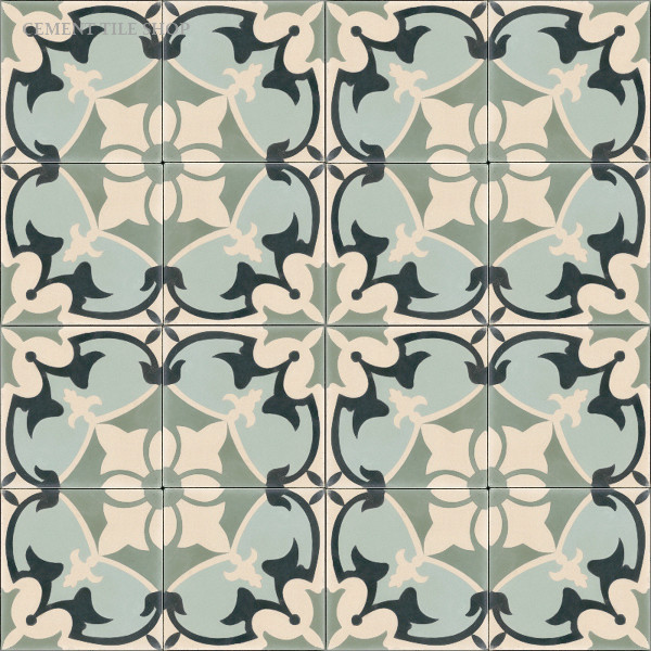 In Stock Cement Tile  floor tiles