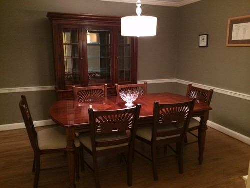 Help me with my dining room including how to decorate china cabinet - How to decorate my dining room ...