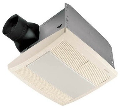 Http Houzz Com Photos 7271924 Broan Nutone Qtre110flt Ultra Silent Bathroom Fan Light Night Light Energy Modern Ceiling Fans