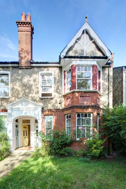 Refurbishment and mansard loft conversion in sw20 Gothick villa regent s park