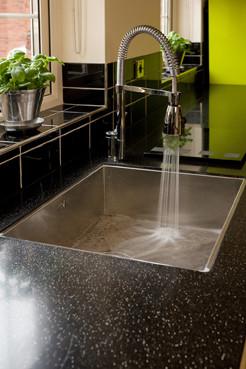 Green Smeg Kitchen contemporary-kitchen-cabinets