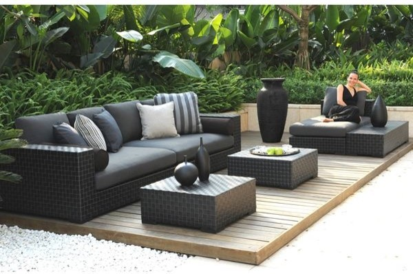 Tres Deep Outdoor Seating Collection  outdoor sofas