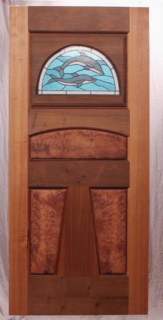 The Dolphin 2 Entry Door modern-front-doors