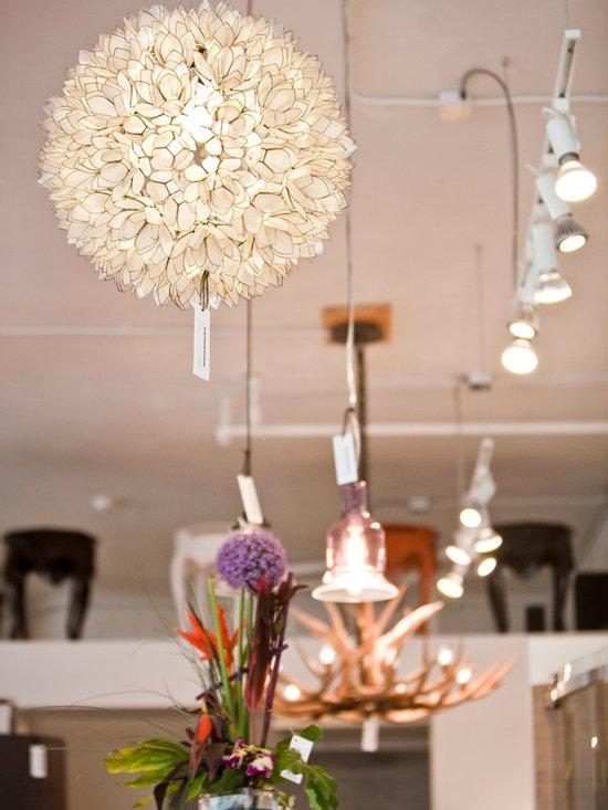 Metric Products- lighting - Lotus pendant light
