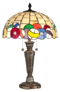 Dale Tiffany Billiards Table Lamp modern table lamps
