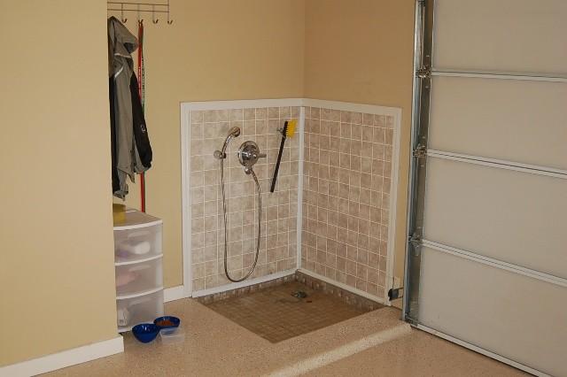 Garage Bathroom Ideas : Garage Bathroom Ideas : Garage Dog Shower