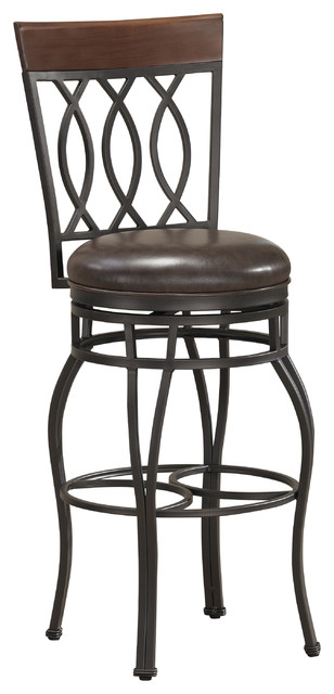 Derby 26 Inch Swivel Counter Stool Contemporary Bar
