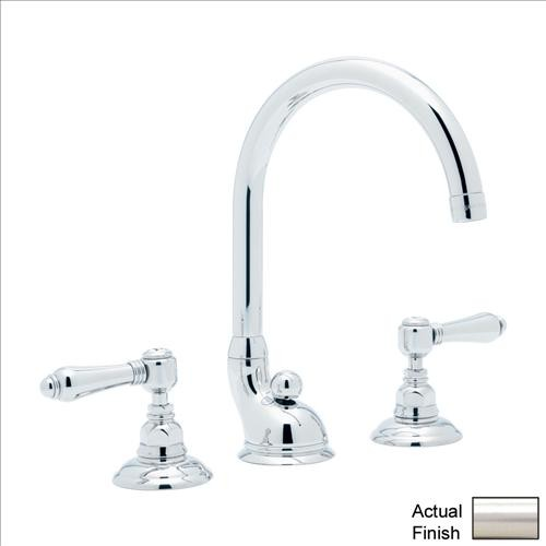 Rohl Bathroom Faucets : Rohl Bath Vocca A1407LMSTN-2 Lavatory Faucet - Contemporary - Bathroom ...