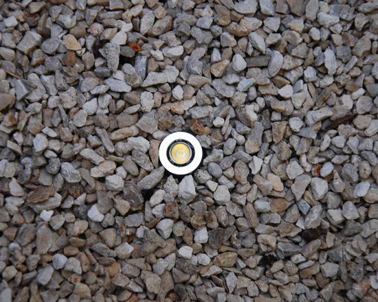 THUMBTACK by MINIMIS.  World's smallest landscape light. - THUMBTACK LP - World's smallest landscape light.  Fixture diameter:  smaller than an American dime.